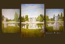 murals and trompe l'oieil