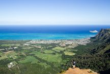 Oahu, Hawaii Hikes / Some of our favorite hikes on the island of Oahu.
