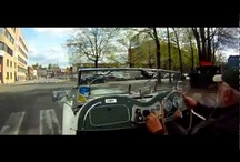 Riding in an MG TD 1953 / I have a 1953 MG TD. I sometimes mount a small video camera in my car and record as I go. Since I live in Oslo, Norway, most of the films will be from that city. However, when I go for longer trips, I will also make some recordings for you to see. I hope you find this a different way of exploring parts of my country interesting..