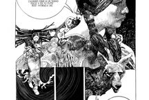 Drawings by Sergio Toppi