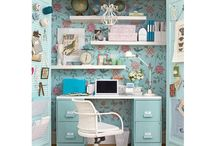 Ideas for home office / Just dreaming of a better home office... ;-)