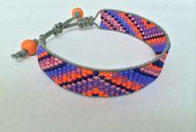 Armbandjes Made by Juul / Handgemaakte armbanden van miyuki kralen.