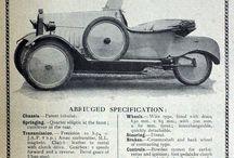 Morgan 3 wheeler - Early days