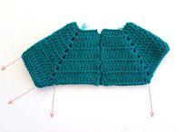 Crochet ranglan