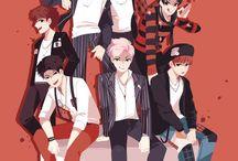 BTS Anime