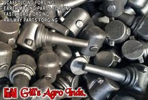 Transmission Line Parts Forging / Agriculture Parts Forgings, Forged Harvester Fingers, Automotive Components Forging Parts, Forging Fasteners Items bolts nuts, Eye Bolts, Forged Flanges, Earth Mover Parts, Forged JCB components, Auto Parts Forging, Forged Tractor Parts, Scaffoldings & Couplers Forgings, Railway Fasteners Forgings etc. Mobile: +91-8937800001, +91-8937800002 Email: gillagroindustries@hotmail.com Website: http://www.gillsagroindustries.com