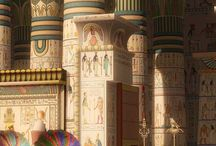 Egyptian temple references
