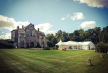 Wedding Marquees at Butley Priory near Woodbridge, Suffolk