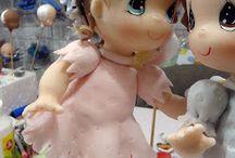 bonecas porcelana