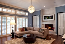 family room / by Erica Chesnut
