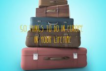 travel  / where to go, what to do, what to eat, where to stay, what to wear and much more!!