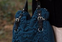 Вязаные сумки / Сумки (крючком,спицами)