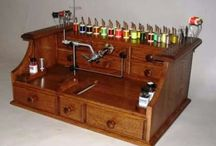 Fly Tying benches