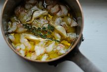 Seafood Inspiration / Recipes to try or healthify / by Kate Criswell (Kate's Healthy Cupboard)