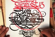 Calligraphy - Western