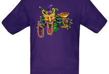 Mardi Gras  / Mardi Gras T-Shirts, Creepers, and Onesies From Inktastic.com