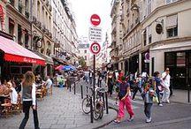 photos de rues de Paris