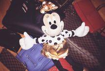 Minnie and her Handbags
