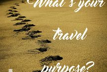 Travel Purpose / What's your purpose when you travel?