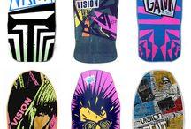Old School Skateboarding