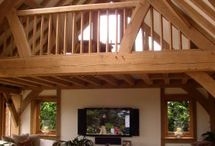 Oak framing