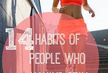 Fitness / Workouts and other ways to live a healthy life