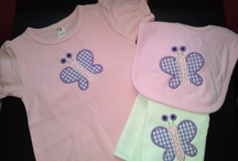 Oh So Appliqued Baby Sets