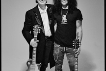 Jimmy Page and Slash