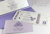 Disney Wedding / Looking for a hint of Disney Magic for your big day? Take a look at these ideas for the Best Day Ever!