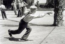 TROISIEME MI-TEMPS _LA BOULISTE / bowling / humour / pétanque / fléchettes / quilles / rétro / kitsch / fifties