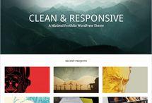 minimal web portfolios
