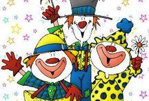 Carnevale / Colora le mascherine e ii personaggi di Carnevale creato dal nostro grafico gabrydesign