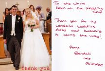 Bride's Thank You Cards / Some of the lovely thank you cards that our brides have sent.