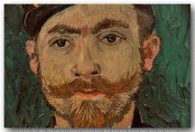 van Gogh portrék