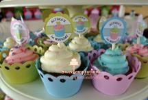 My Cupcakes / A collection of cupcakes that I've made.  :-)