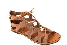 handmade leather sandals/summer shoes/ women's fashion