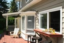 Deck/Backyard / by Cathy Goff