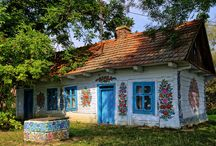 painted houses