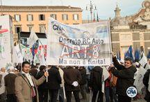 Le voci della piazza. Mobilitazione generale delle imprese / 18 febbraio 2014: oltre 60 mila imprenditori presenti a Piazza del Popolo.