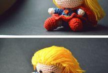 little superheroes / amigurumi toys