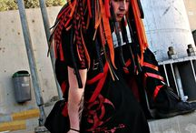 cyber goth - CyberFinwe / Integrante del grupo ☣☢[]:Revolution Industrial Dance:[]☢☣  Chile  / by kiki Tere