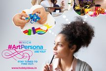 Art Personas /  Keep watching this space to know your #ArtPersona.