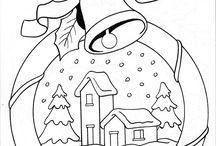 Vystřihovánky Vánoce