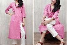 Khaadi Collection / Zoyashi's exclusive range of Khadi Kurtas & Pants