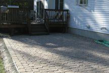 Stone patio / by Carol Pritchard
