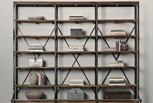 bookcase iron