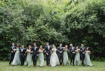 bridesmaids and groomsman colour combo