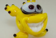 Novelty Lampwork Beads / Cute, Crazy and Creative - animals, creatures and things!