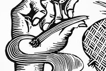 Jeca Tatu / Step by step of linocut production