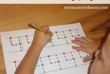 Preschool at Home Activities & Ideas / Learning activities to add to our homeschool preschool learning.